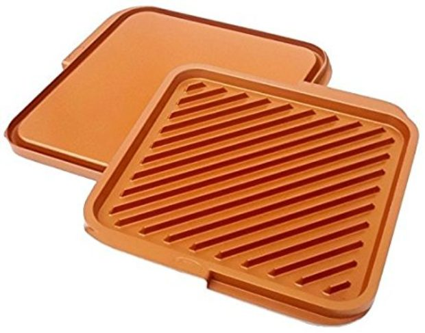 Normally $30, this reversible griddle is 28 percent off today (Photo via Amazon)