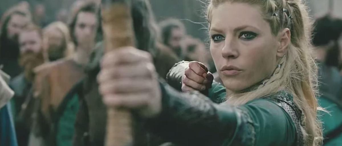 Katheryn Winnick as Lagertha in Vikings (Screenshot: YouTube)