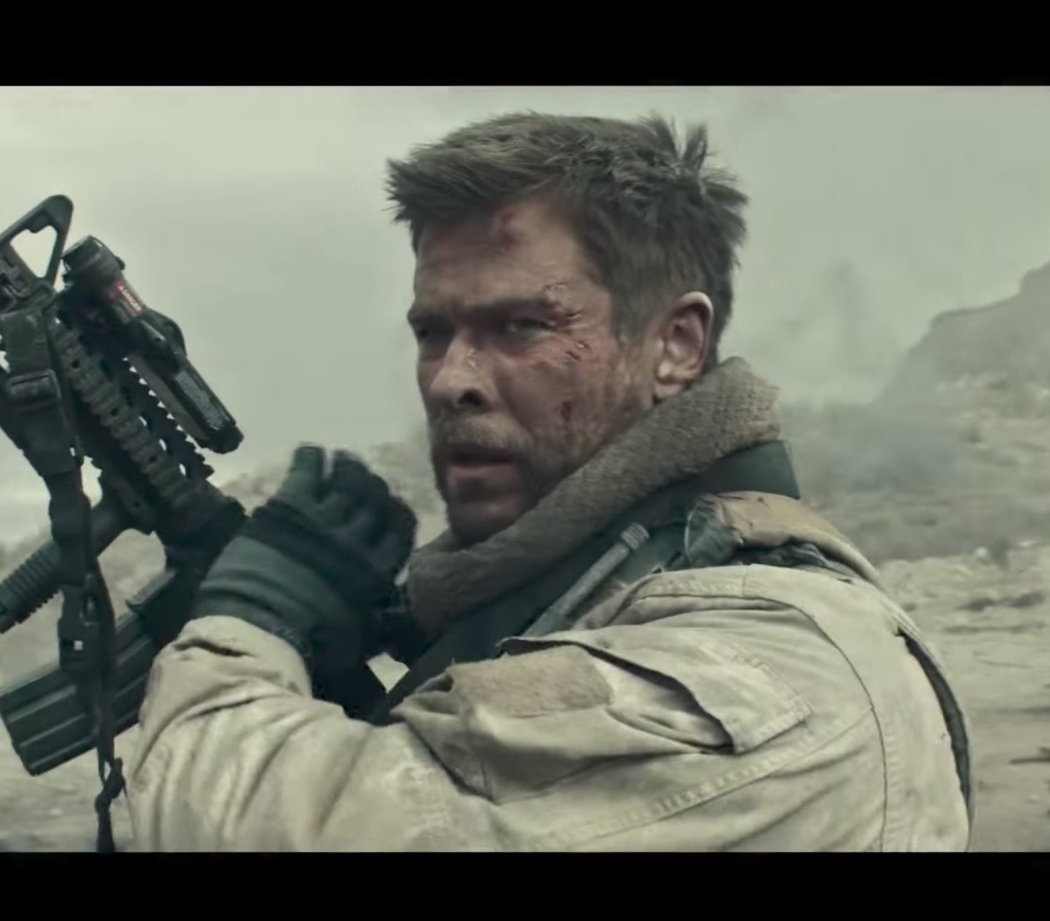 12 Strong (Credit: Screenshot/YouTube movieclipsTRAILERS)