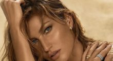 Gisele Bündchen looks gorgeous on this shot shared from a jewelry company ad. (photo: Instagram)