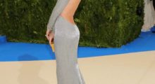 Gisele Bündchen shared a snap from the Met gala in the gorgeous silver gown that hugged all her curves. (photo: Instagram)