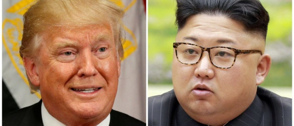 FILE PHOTO: A combination photo shows U.S. President Donald Trump in New York, U.S. September 21, 2017 and North Korean leader Kim Jong Un in this undated photo released by North Korea's Korean Central News Agency (KCNA) in Pyongyang, September 4, 2017. REUTERS/Kevin Lamarque, KCNA/Handout via REUTERS/File Photos