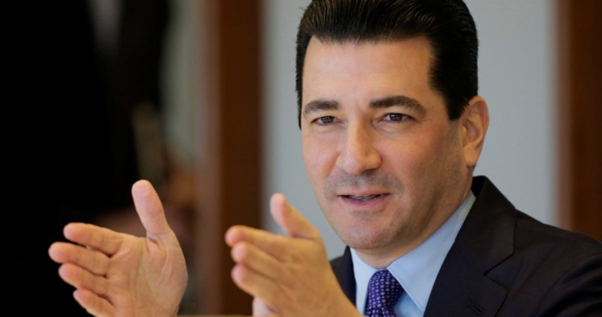U.S. Food and Drug Commissioner Scott Gottlieb attends an interview at Reuters headquarters in New York City, U.S., October 10, 2017. REUTERS/Eduardo Munoz