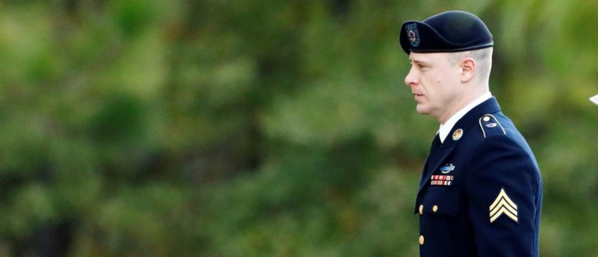"U.S. Army Sergeant Beaudry Robert ""Bowe"" Bergdahl arrives at the courthouse for the fifth day of sentencing proceedings in his court martial at Fort Bragg, North Carolina, U.S., October 31, 2017. REUTERS/Jonathan Drake"
