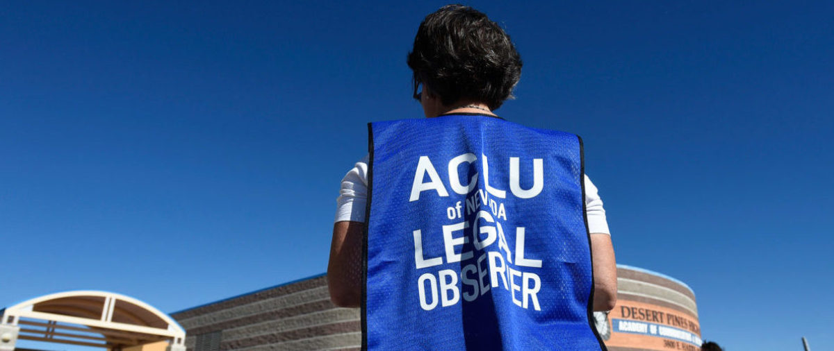 ACLU Memo Says They Will Take Freedom Of Speech Cases Based On How It Could Affect Marginalized Communities