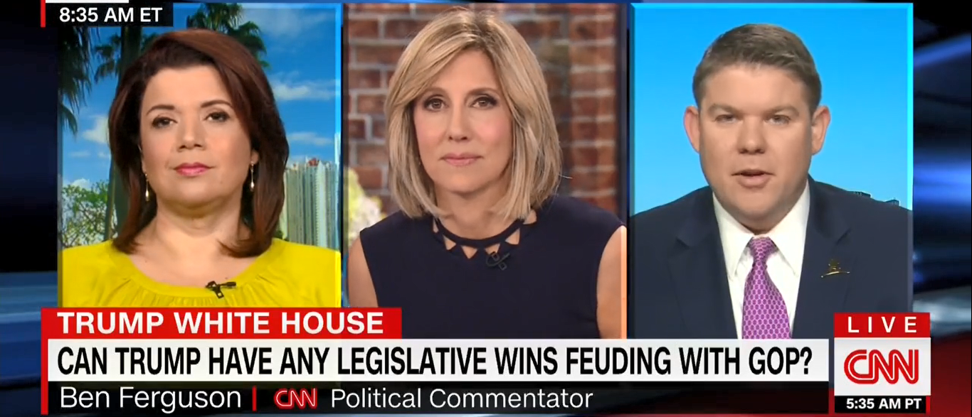 Ben Ferguson Calls Out Bob Corker On CNN 10-09-17 (Screenshot-CNN)