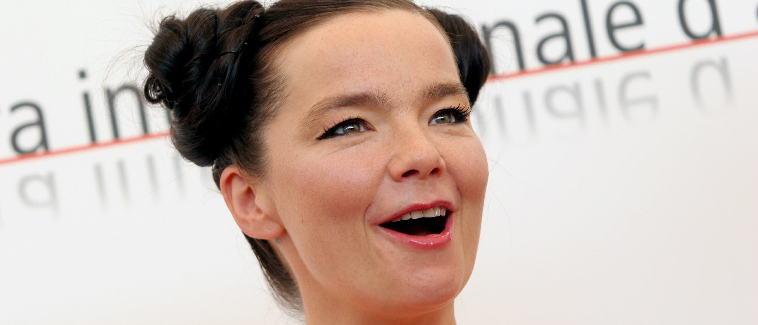 "Icelandic singer and actress Bjork poses during a photocall at the Venice Lido September 2, 2005. Bjork is starring in [U.S. director Matthew Barney's] latest movie ""Drawing Restraint 9"". - PBEAHUNXNDP (Reuters)"