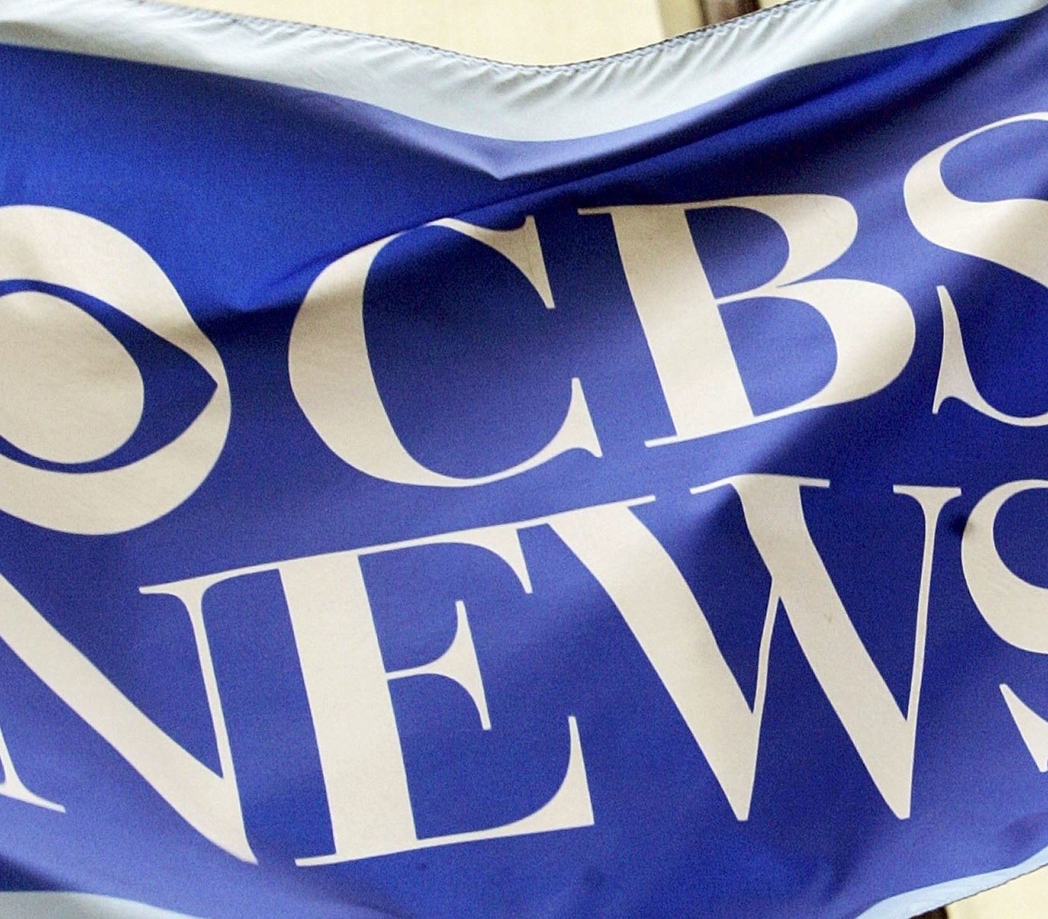 NEW YORK - JUNE 20: A flag is seen outside CBS News headquarters June 20, 2006 in New York City. CBS announced that Dan Rather is leaving the network after 44 years, following his departure as anchorman last year. (Photo by Mario Tama/Getty Images)