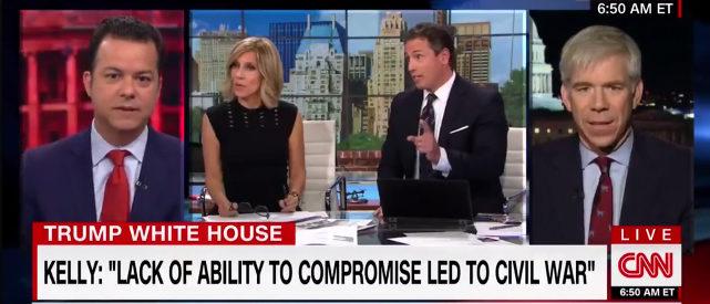 CNN Panel On John Kelly Comments (Photo: Screenshot/CNN)