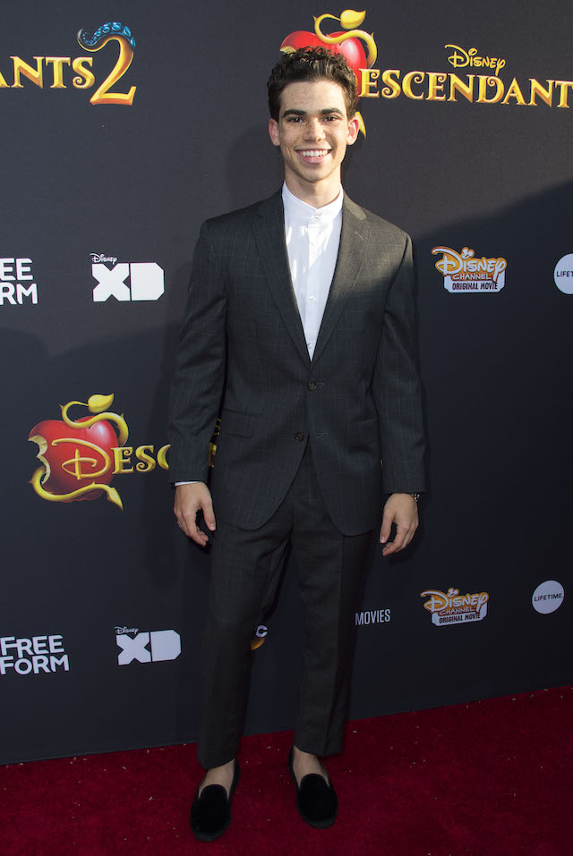 "Actor Cameron Boyce attends the Red Carpet Premiere Event for ""The Descendants 2"" at the Arclight Cinerama Dome, on July 11, 2017, in Hollywood, California. / AFP PHOTO / VALERIE MACON (Photo credit should read VALERIE MACON/AFP/Getty Images)"
