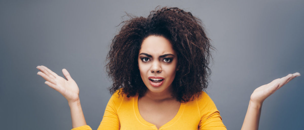 Confused or incredulous student (Shutterstock/Katia Fonti) | Prof Has Different Standards For Israel