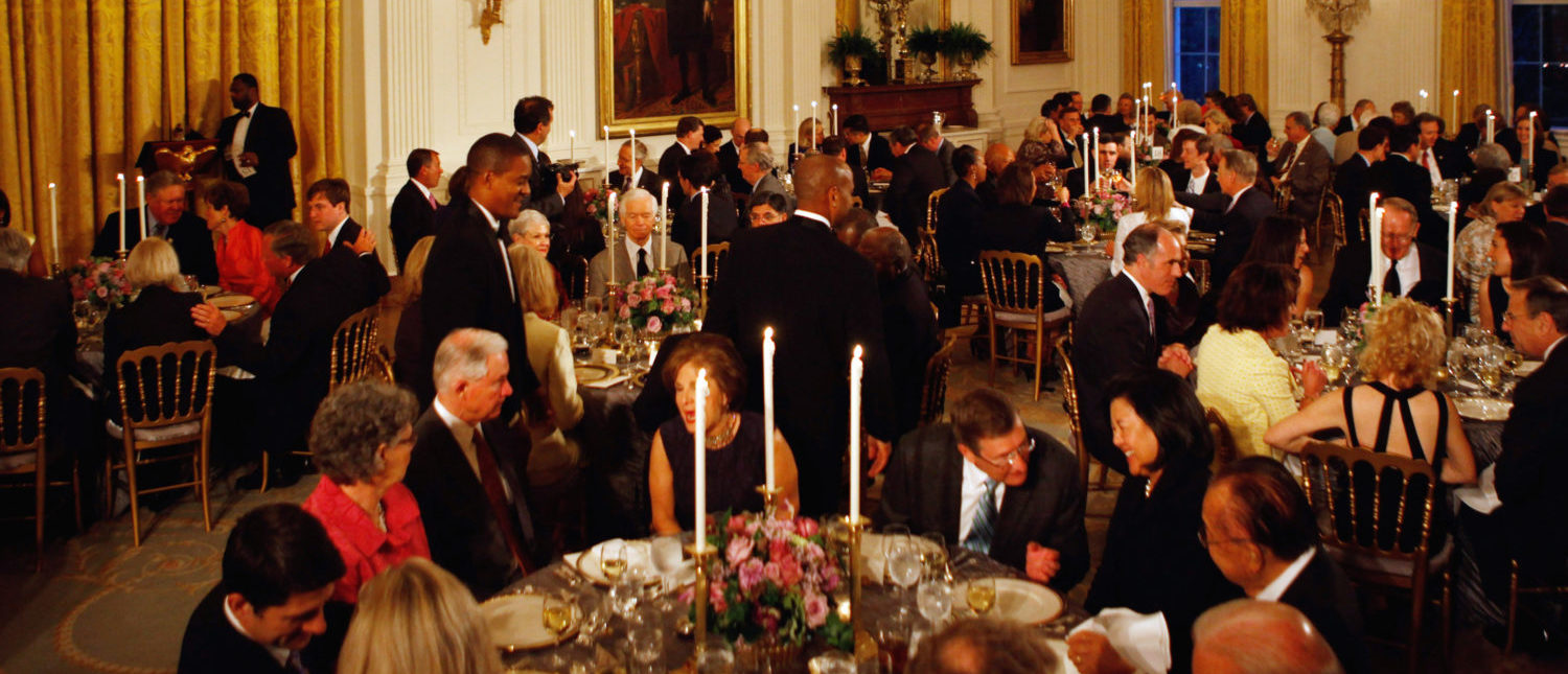 Dinner hosted by U.S. President Barack Obama for bipartisan Congressional leaders at the White House May 2, 2011 in Washington, DC. (Photo: Chip Somodevilla/Getty Images)