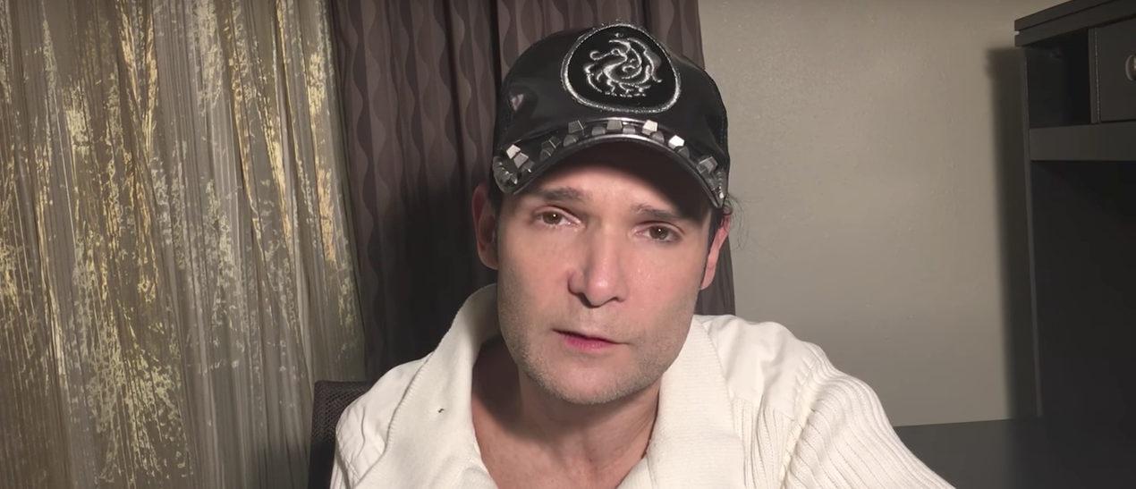 Corey Feldman Youtube screenshot