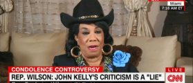 Frederica Wilson Calls Kelly's 'Empty Barrel' Comments 'Racist'