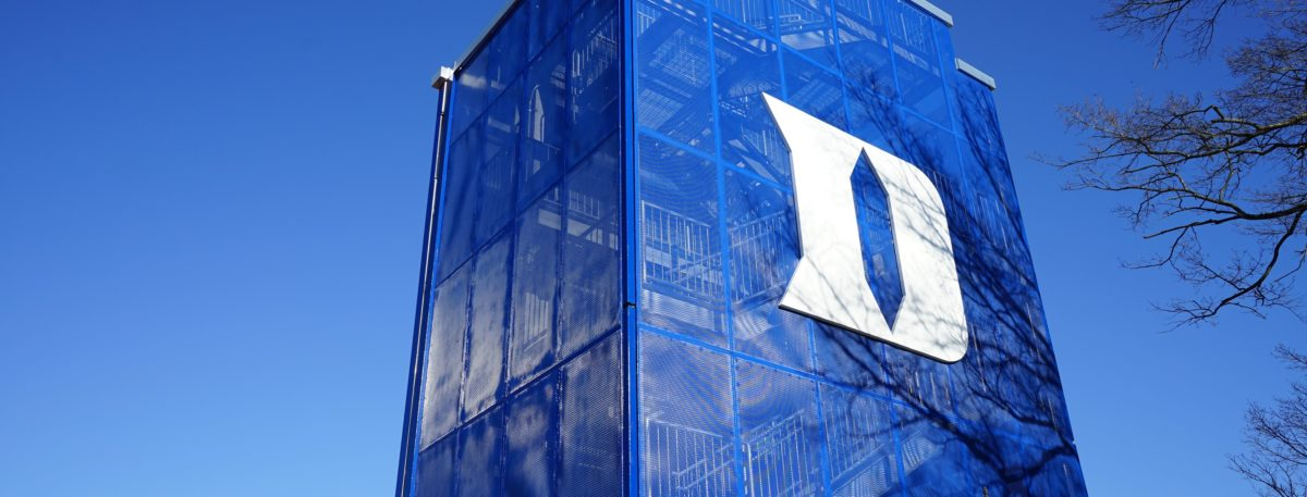 Duke University, one of the top private research universities in the US. (Shutterstock/EQRoy)