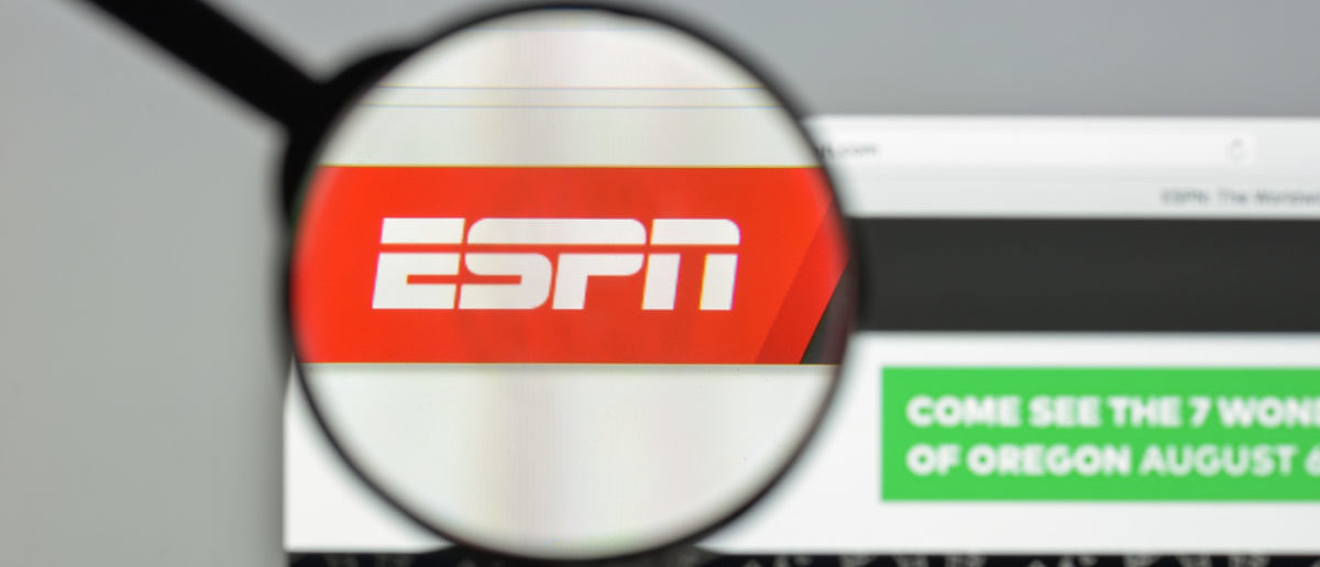 ESPN Logo (Credit: Shutterstock)