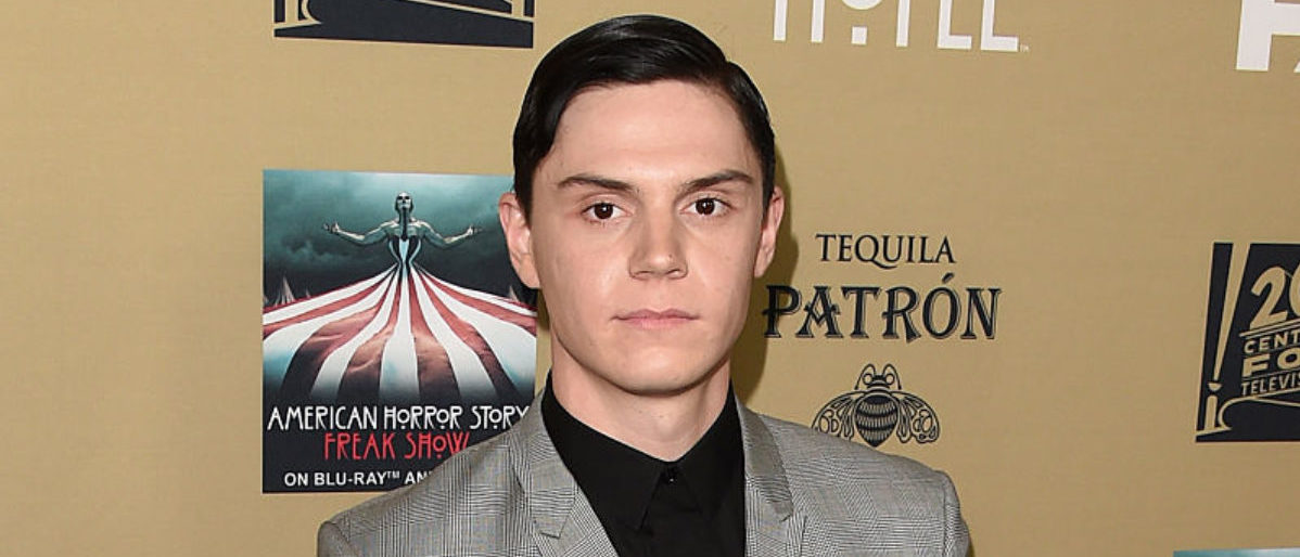 Actor Evan Peters attends the premiere screening of FX's 'American Horror Story: Hotel' at Regal Cinemas L.A. Live on October 3, 2015 in Los Angeles. (Photo by Jason Merritt/Getty Images)
