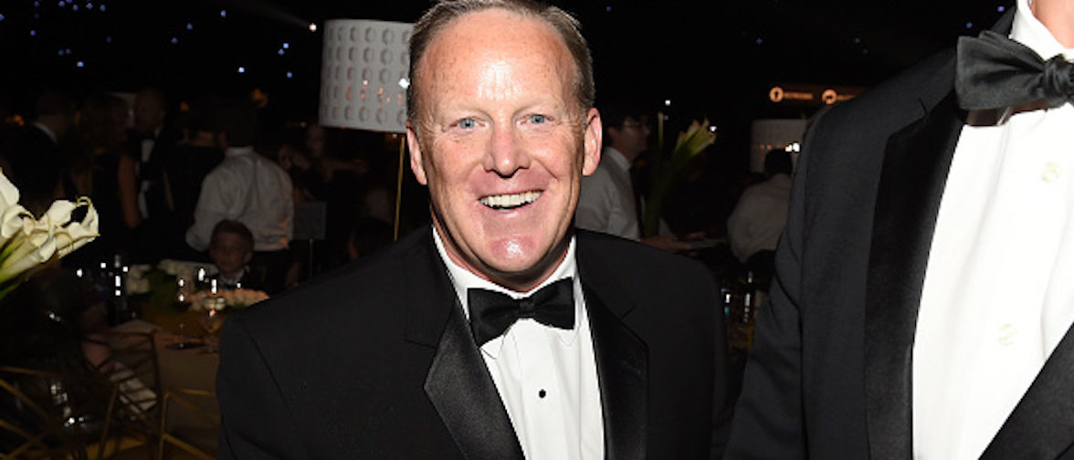 LOS ANGELES, CA - SEPTEMBER 17: Former White House Press Secretary Sean Spicer attends the 69th Annual Primetime Emmy Awards Governors Ball on September 17, 2017 in Los Angeles, California. (Photo by Kevin Winter/Getty Images)