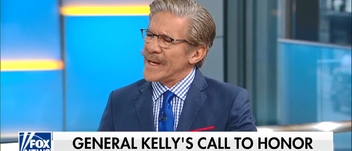 Geraldo Rivera is disgusted by Rep. Frederica Wilson's comments. (Screenshot-Fox News)