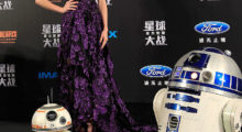 Ridley attending an event for 'Star Wars: The Force Awakens' in December 2015 in Shanghai, China. (Photo Credit/Getty Images)