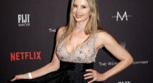 Mira Sorvino attends The Weinstein Company and Netflix Golden Globe Party, presented with FIJI Water, Grey Goose Vodka, Lindt Chocolate, and Moroccanoil at The Beverly Hilton Hotel on January 8, 2017 in Beverly Hills, California.  (Photo by Tommaso Boddi/Getty Images for The Weinstein Company)
