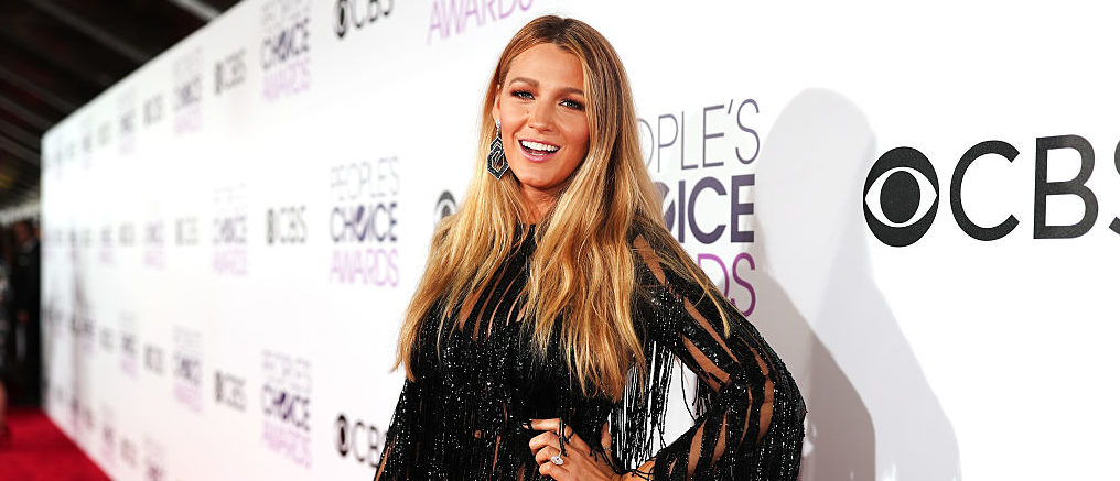 Blake Lively attending the People's Choice Awards 2017 in January 2017 in Los Angeles. (Photo by Christopher Polk/Getty Images for People's Choice Awards)