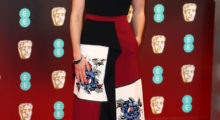 Daisy on the red carpet for the 70th EE British Academy Film Awards (BAFTA) at Royal Albert Hall in February 2017 in London.  (Photo by Chris Jackson/Getty Images)