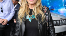 Rosanna Arquette posses for a photo at an event.(Photo Credit/Getty Images)