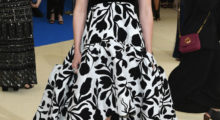 """Daisy attending the """"Rei Kawakubo/Comme des Garcons: Art Of The In-Between"""" Costume Institute Gala at Metropolitan Museum of Art in May 2017 in New York City.  (Photo by Dia Dipasupil/Getty Images For Entertainment Weekly)"""