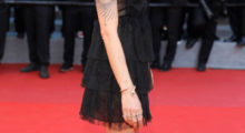 """Asia Argento attending the """"Ismael's Ghosts (Les Fantomes d'Ismael)"""" screening and Opening Gala during the 70th annual Cannes Film Festival at Palais des Festivals in May 2017 in Cannes, France. (Photo Credit/Getty Images)"""
