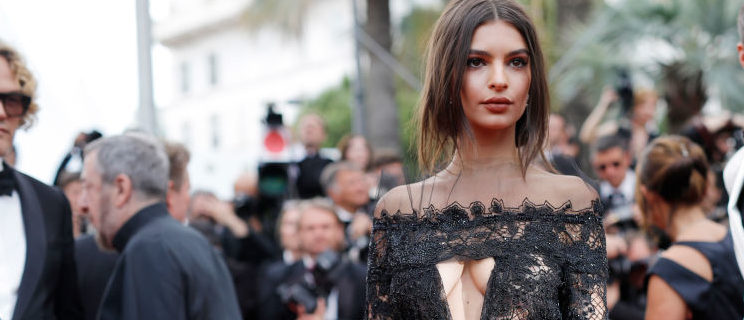 "Emily Ratajkowski attending the ""Loveless (Nelyubov)"" screening during the Cannes Film Festival at Palais des Festivals in May 2017 in France. (Photo by Andreas Rentz/Getty Images)"