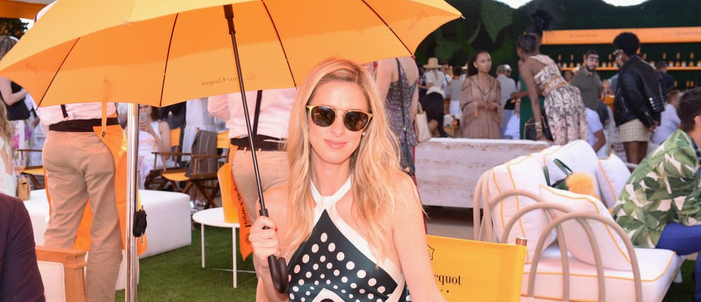 Nicky Hilton attending The Tenth Annual Veuve Clicquot Polo Classic at Liberty State Park in June 2017 in Jersey City, New Jersey. (Photo by Andrew Toth/Getty Images for Veuve Clicquot)