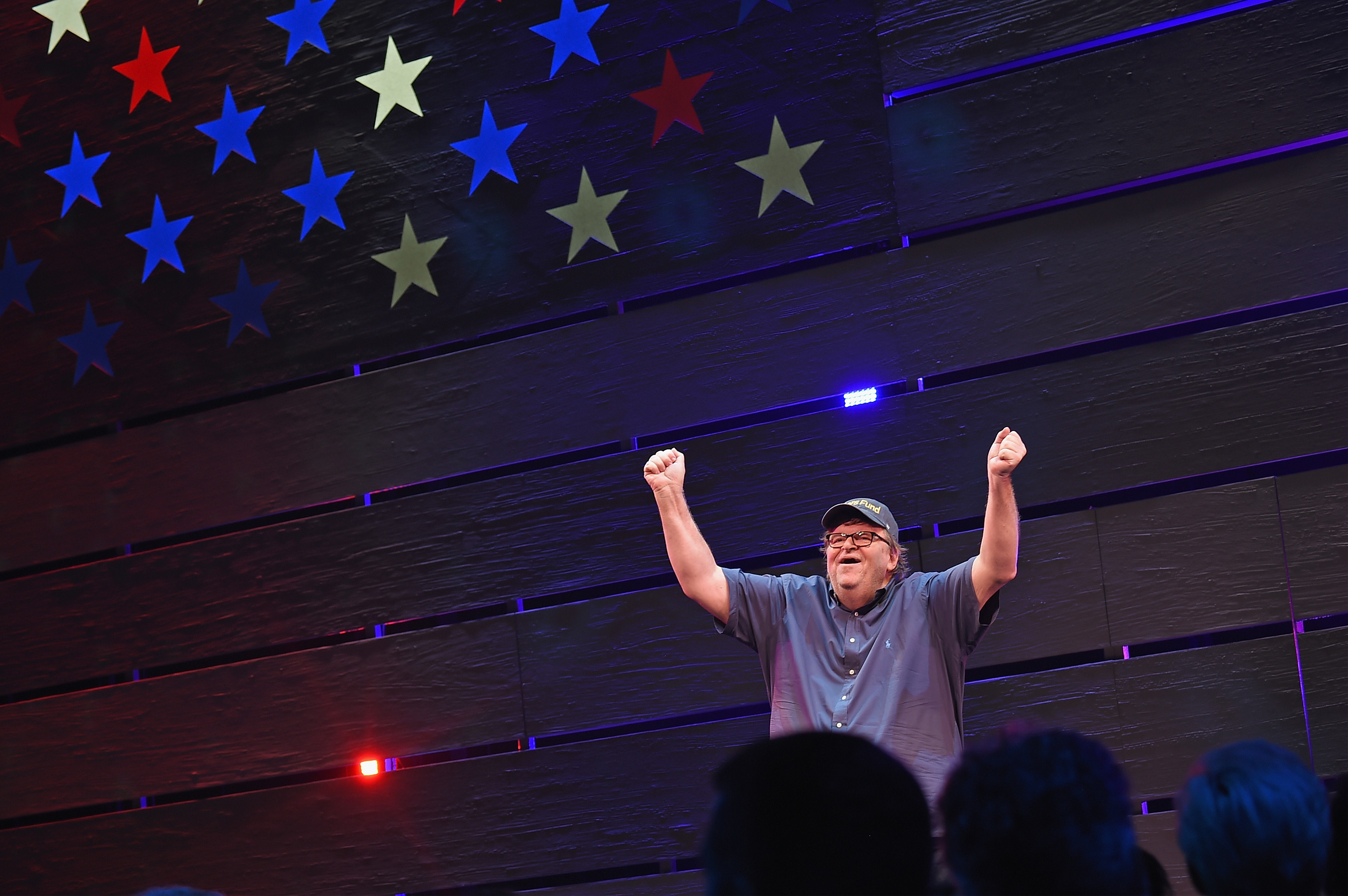 Donald Trump and Michael Moore Quarrel Over Broadway Show