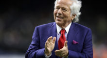 Robert Kraft at the Mercedes-Benz Superdome in September 2017 in New Orleans, Louisiana. (Photo Credit/Getty Images)