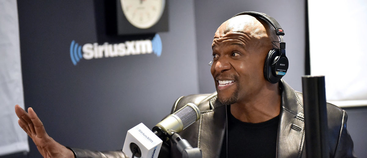 NEW YORK, NY - SEPTEMBER 29: Actor Terry Crews visits The Jenny McCarthy Show' at the SiriusXM Studios SiriusXM Studios on September 29, 2017 in New York City. (Photo by Mike Coppola/Getty Images)