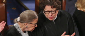 Report: Trump Doesn't Expect Ginsburg And Sotomayor To Make It Through His First Term