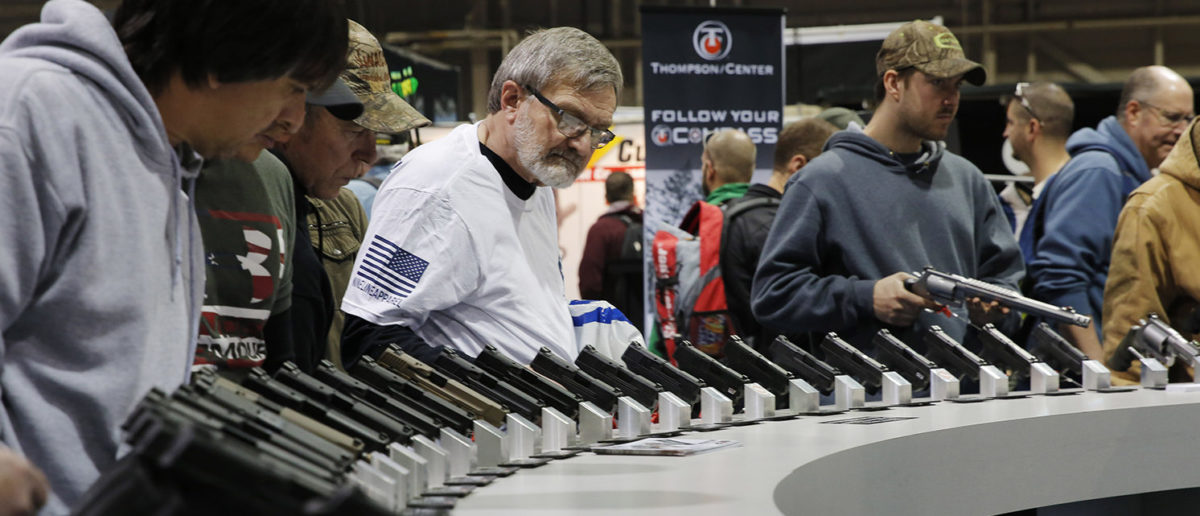 The Great The Great American Outdoor Show, a nine day event celebrating hunting, fishing and outdoor traditions, features over 1,000 exhibitors ranging from shooting manufacturers to outfitters to fishing boats and RVs, and archery to art. (DOMINICK REUTER/AFP/Getty Images)