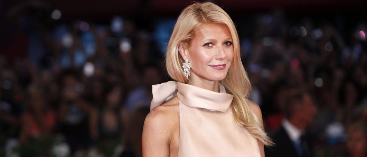 VENICE, ITALY - SEPTEMBER 03 : Actress Gwyneth Paltrow attends the premiere of 'Contagion' during the 68th Venice Film Festival on September 3, 2011. (Shutterstock)
