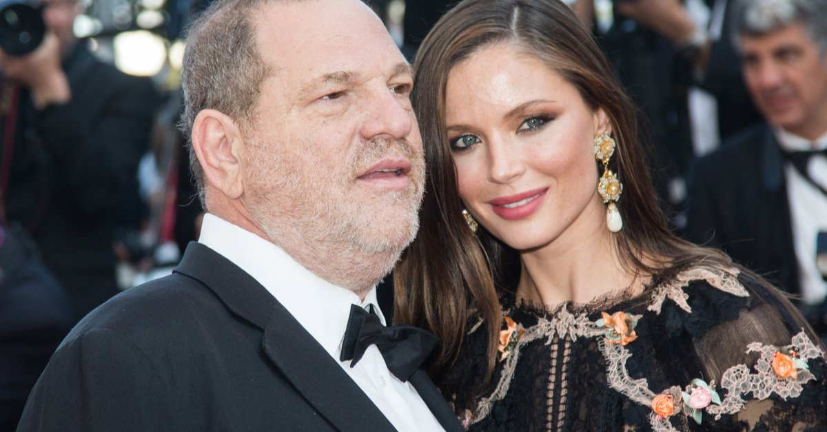 Harvey Weinstein and Georgina Chapman attends the 'Little Prince' Premiere during the 68th annual Cannes Film Festival on May 22, 2015 in Cannes, France. magicinfoto(Shutterstock)