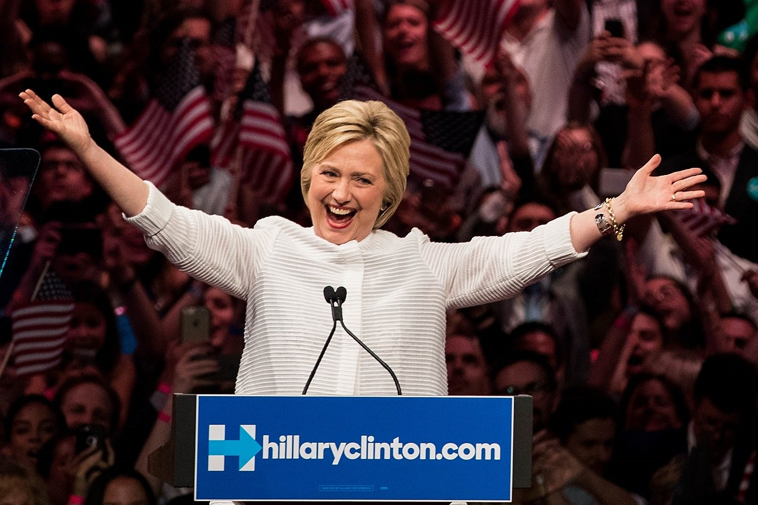Hillary Clinton Getty Images/Drew Angerer