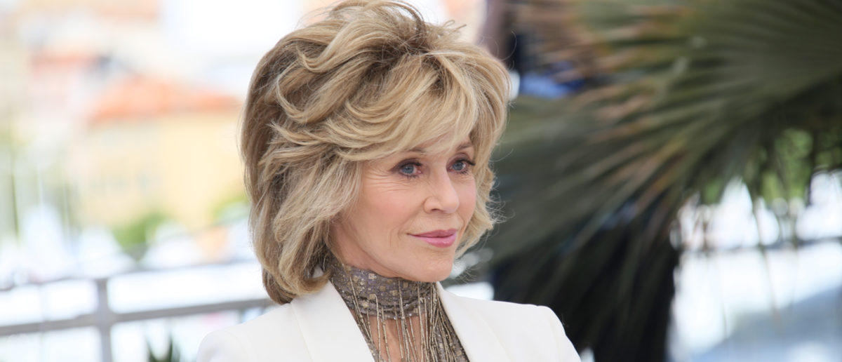 Jane Fonda attends the 'Youth' Photocall during the 68th annual Cannes Film Festival on May 20, 2015 in Cannes, France. (Shutterstock)