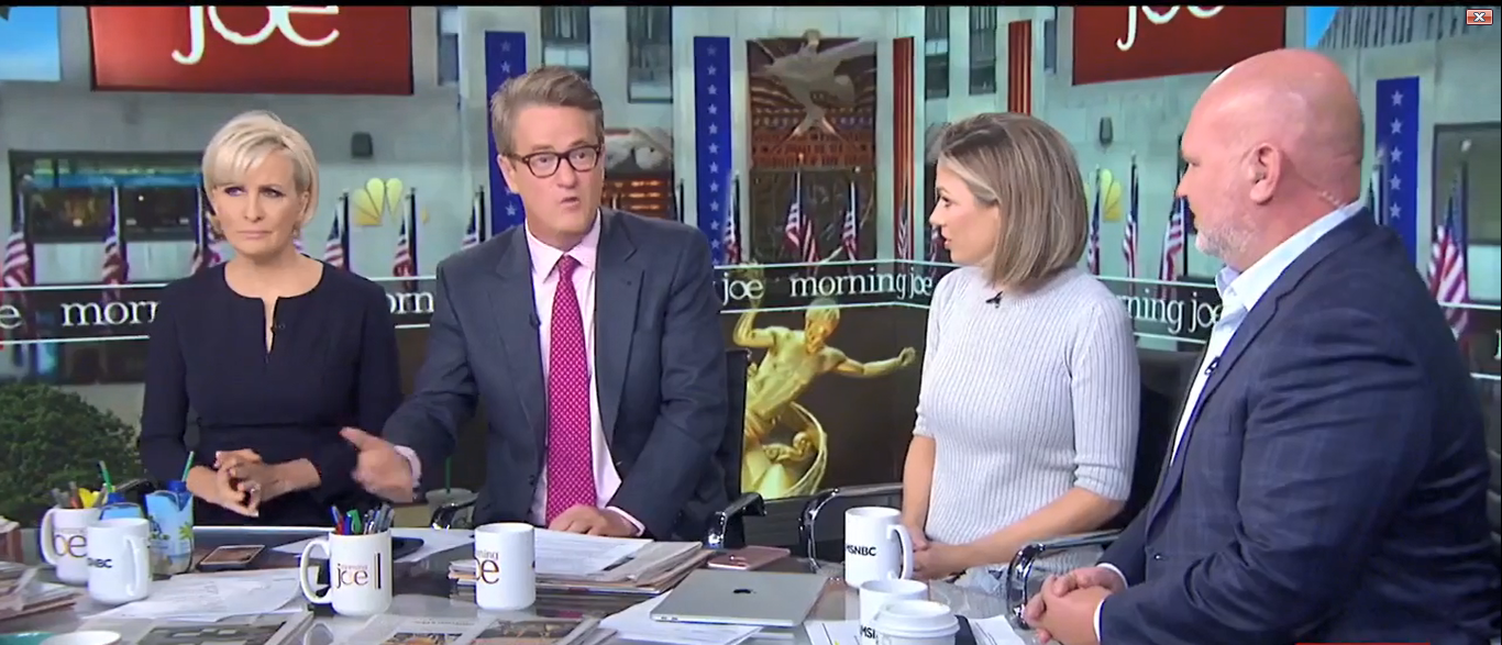 Joe Scarborough Calls Trump A Threat To US 10-09-17 (Screenshot-MSNBC)