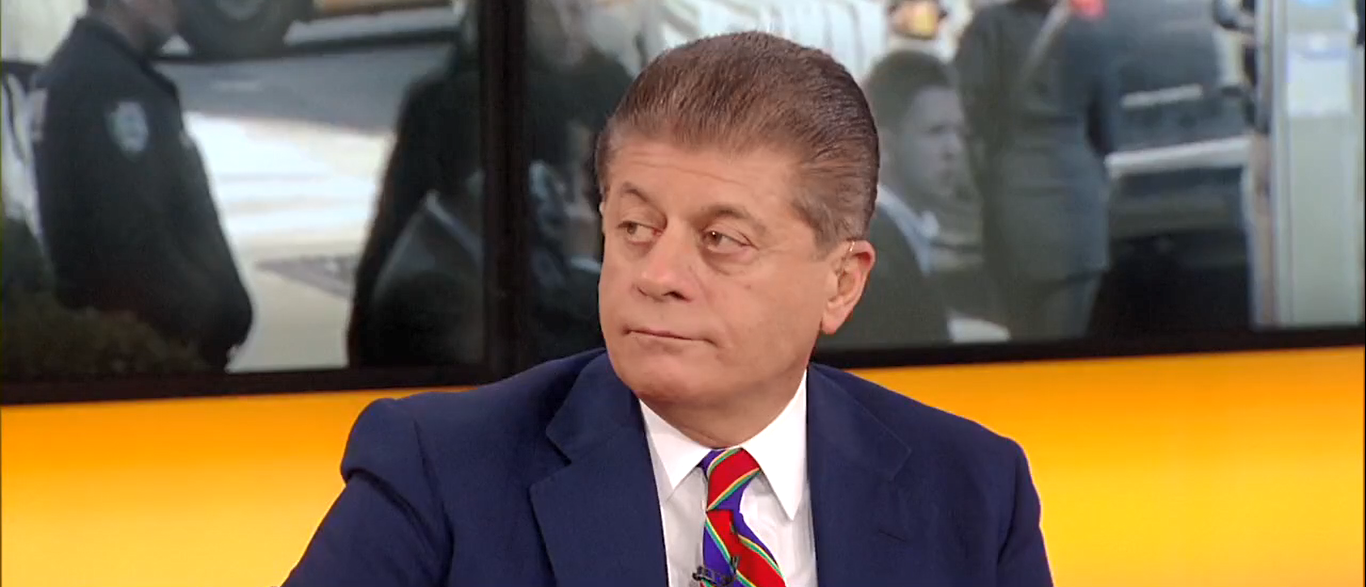 Judge Napolitano Says Jeff Sessions Needs His Own Lawyer Outnumbered 10-18-17 (Screenshot-Fox News)
