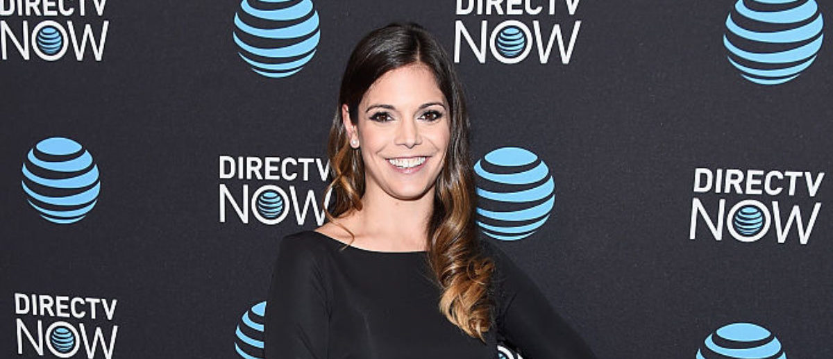 NEW YORK, NY - NOVEMBER 28: TV personality Katie Nolan attends AT&T's celebration of the Launch of DIRECTV NOW at Venue 57 on November 28, 2016 in New York City. (Photo by Dave Kotinsky/Getty Images for DirecTV)