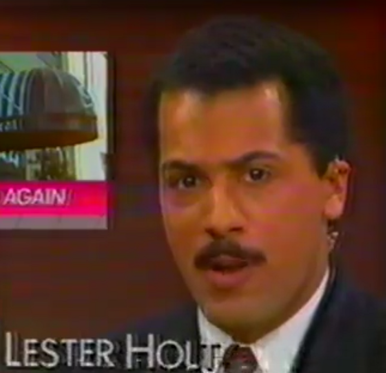 Lester Holt with amazing mustache YouTube screenshot/BetaMax