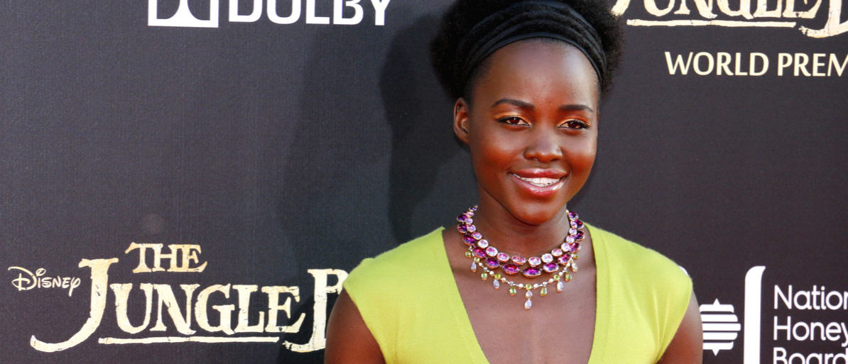 Lupita Nyong'o at the Los Angeles premiere of 'The Jungle Book' held at the El Capitan Theatre in Hollywood, USA on April 4, 2016. Tinseltown (Shutterstock)