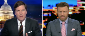 Everyone is colluding with Russia except for President Donald Trump, conservative author Mark Steyn said Wednesday night on Fox News. (Photo: Screen Shot/Youtube/Tucker Carlson Tonight)