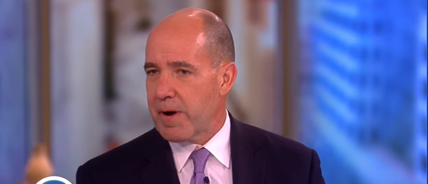 Matthew Dowd (PHOTO: Screenshot via YouTube/The View)