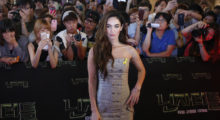 "Cast member Megan Fox poses for photographs during a red carpet event to promote her new movie ""Teenage Mutant Ninja Turtles"" in Seoul August 26, 2014.   REUTERS/Kim Hong-Ji"