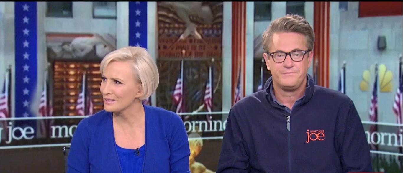 Mika Brzezinski Calls Trump a Moron 10-12-17 (Screenshot-MSNBC)